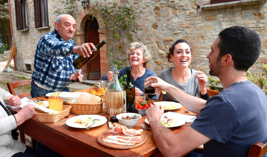 In Southern Europe much time and effort is devoted to meals, which serve important social functions as a result.